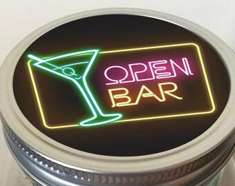 Mini Bar In A Jar Etsy