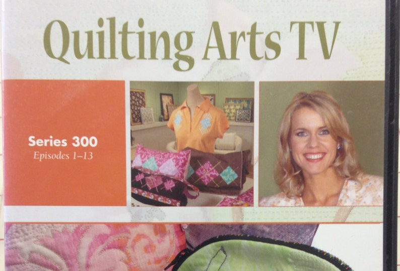 Quilting Arts Tv Series 300 Episodes 1 13 4 Dvd Set By Patricia Bolton