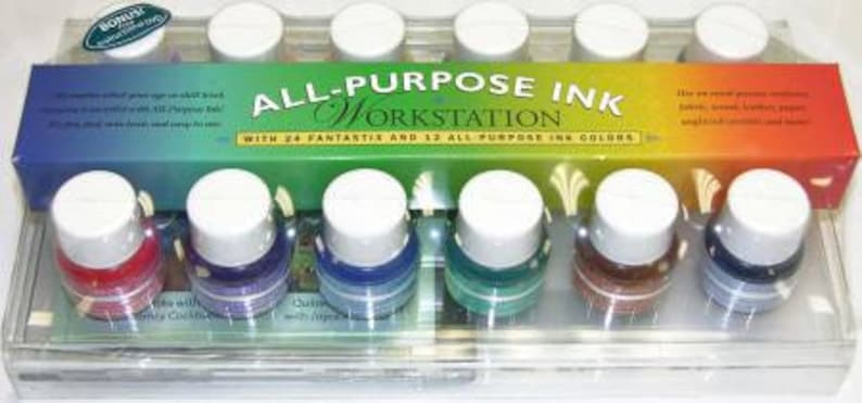 Workstation All Purpose Ink from Tsukineko Rustic Collection