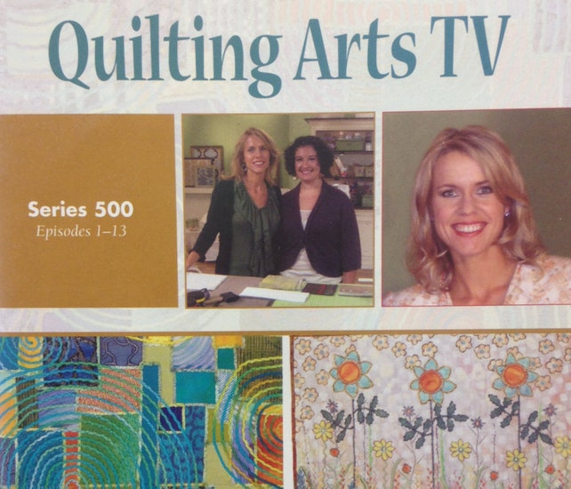 Quilting Arts Tv Series 500 Episodes 1 13 4 Dvd Set By Etsy