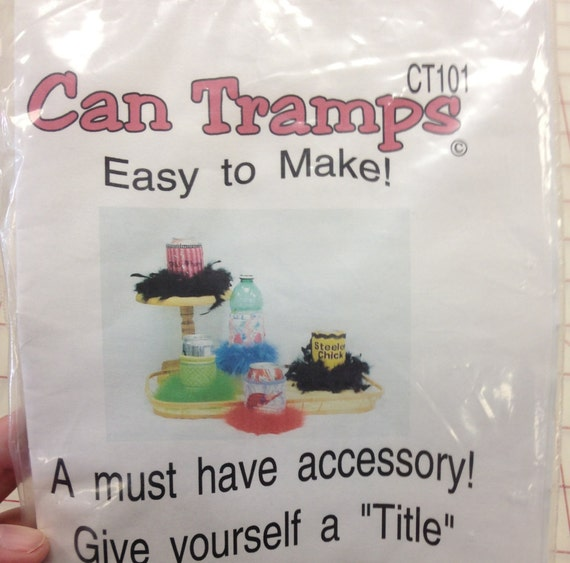 Machine Embroidery Designs To Create Can Tramps Cozies Etsy