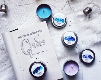 Lunar Chronicles | LC inspired 2oz set