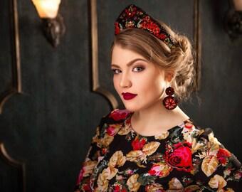 Khokhloma. Russian style, kokoshnik, Russian wedding, I am Russian, Russia, Slavs, modern kokoshnik, Crown kit,crown  tiara diadem