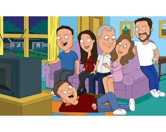 Cool Family Guy Art