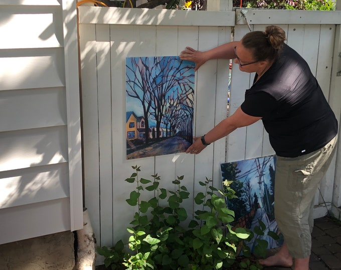 18X24 inch - Yard Art Work Prints - Made with fade- and weather-resistant corrugated plastic