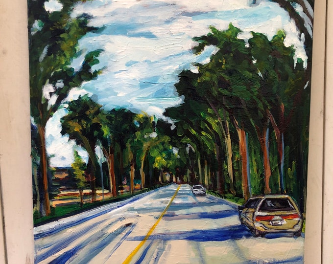 Original Landscape Painting - 18x24 inch - When we are together