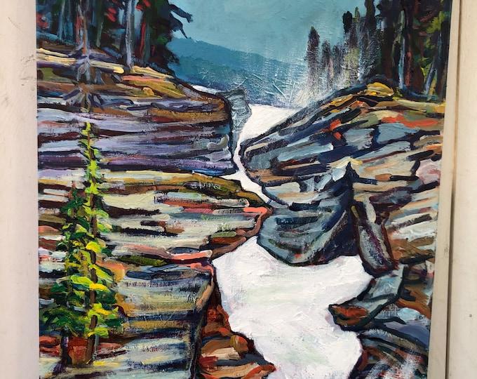 Original Landscape Painting - 16x20 inch