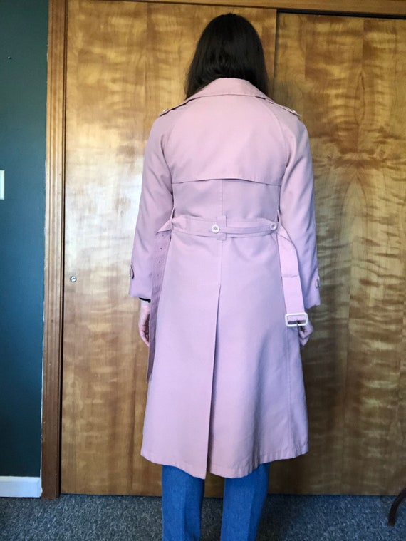 Dusty Pink Misty Harbor Trench, Trench Coat, Ladi… - image 5