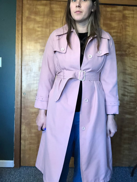 Dusty Pink Misty Harbor Trench, Trench Coat, Ladi… - image 6