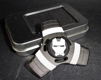 Fidget Tri Hand Spinner Finger Spin Marvel Ironman War Machine Stress Reduce Adult Kid Toy