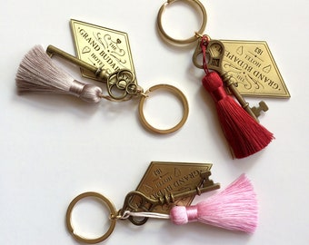 The Grand Budapest Hotel inspired keychain