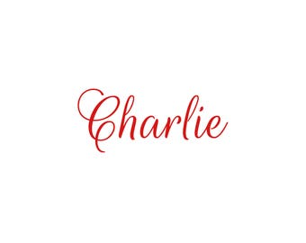 Iron  on decal, personalized decal, personalized iron on decal, name decal, name iron on decal, iron on name