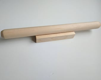 French Rolling Pin with Stand