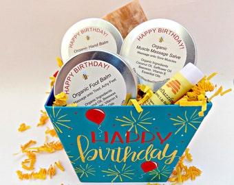 Birthday Spa Box Gift For Her Men Set Basket