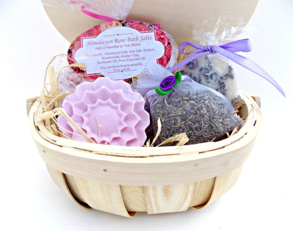 Birthday Gift For Women Spa Set Basket Her Kit