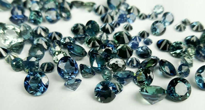 Natural Green blue sapphire image 0