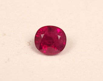 1.03ct Natural pigeon blood red Ruby