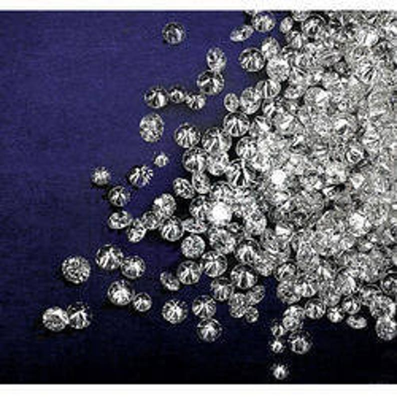 0.26ct total weight 1.3mm to 2mm Si single cut Diamonds image 0