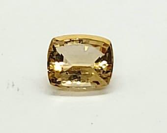 2.25ct natural precious (imperial) yellow Topaz