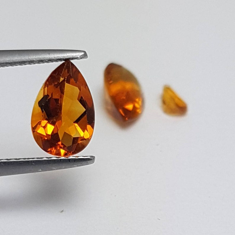 Natural 5x3 & 9x6 Citrine image 0