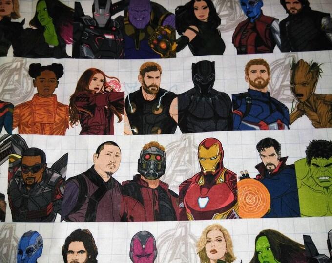Marvel character line up welding cap