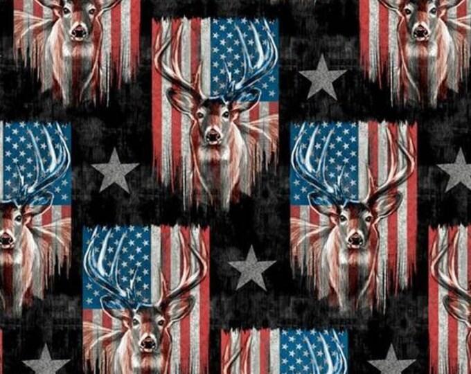Patriotic  Deer Welding Cap