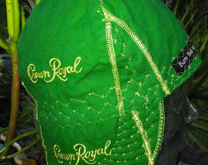 Crown Royal Apple Green welding cap