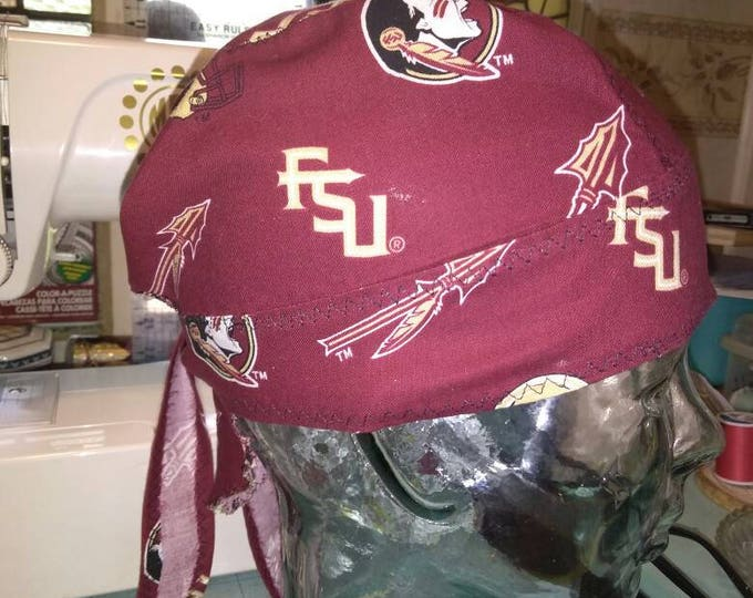 FSU Do-rag unlined reinforced stitching Seminoles Florida State Game Day
