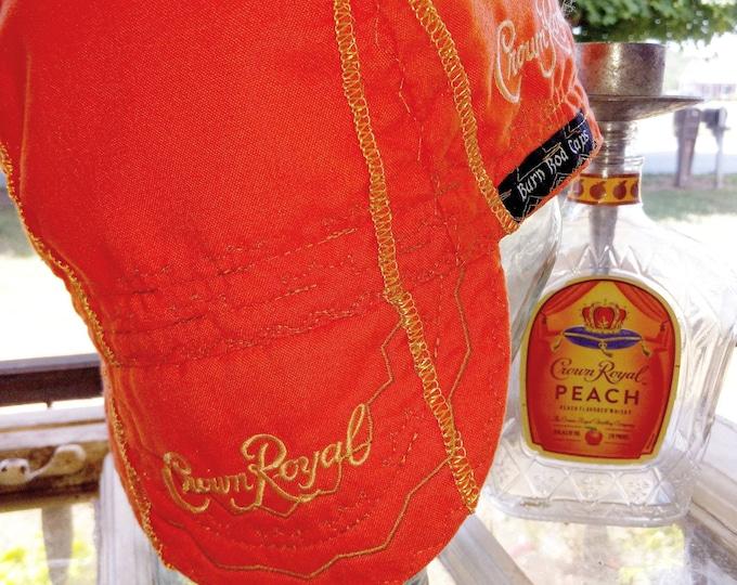 RTS Peach Crown Royal Welding Cap