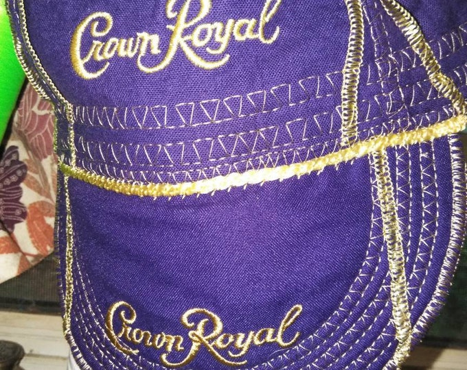 Crown Royal Purple Welding Cap