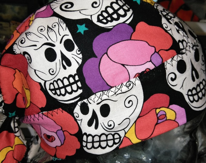 Sugar Skull  Do-rag