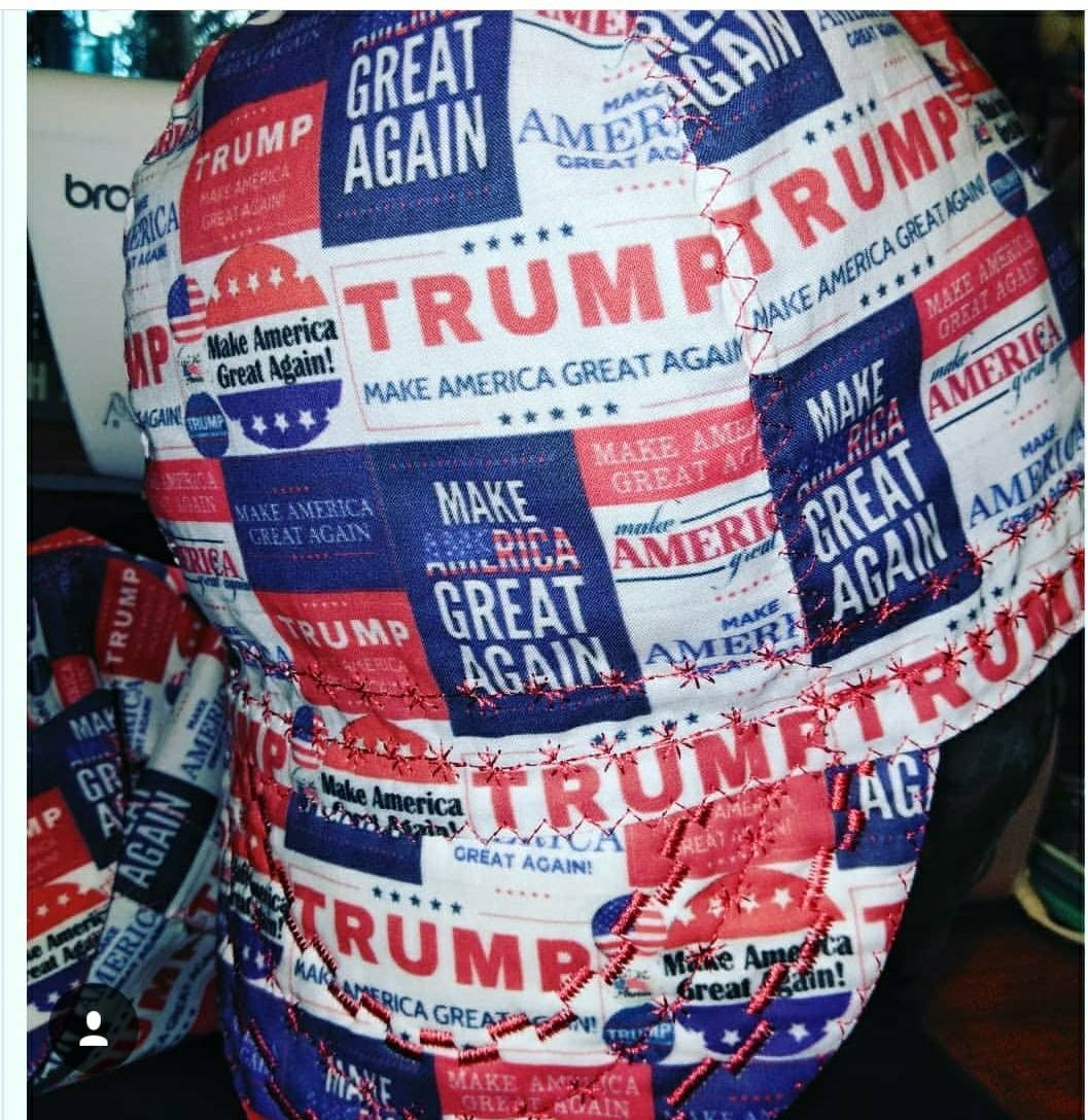 56559819402 Trump Make America Great Again welding cap
