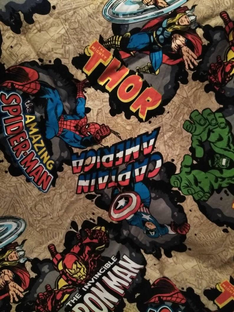 5a070eda54736 Hulk Thor IronMan Captain America Welding Cap image 0