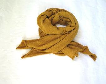 6d9af7787d6d95 Strick-Senfgel-Schal für Männer, Schal für Verdammnis, Wollknabel-Schal für  Frauen, Baby-Camel-Wollfolie für die Winterhochzeit, Hochzeits-Schals  Packung