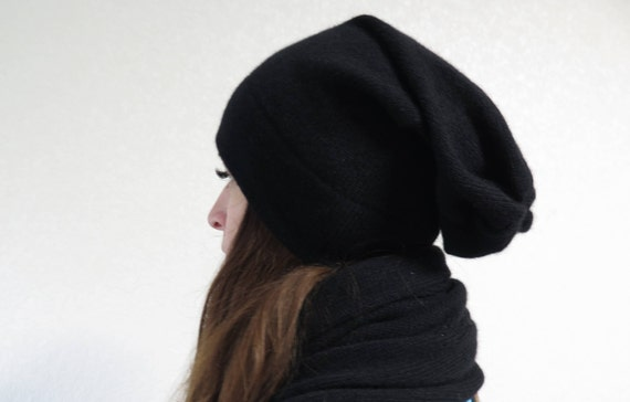 a19a17b9609 cashmere beanie womens cashmere hats wool hat slouchy