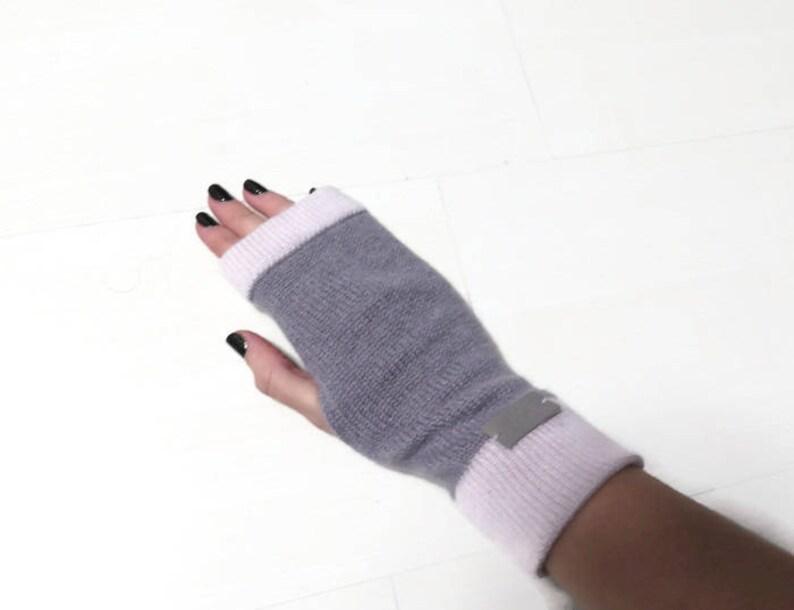 1f1d4d932bf038 Fingerlose Handschuhe Kaschmir Kaschmir Handschuhe | Etsy