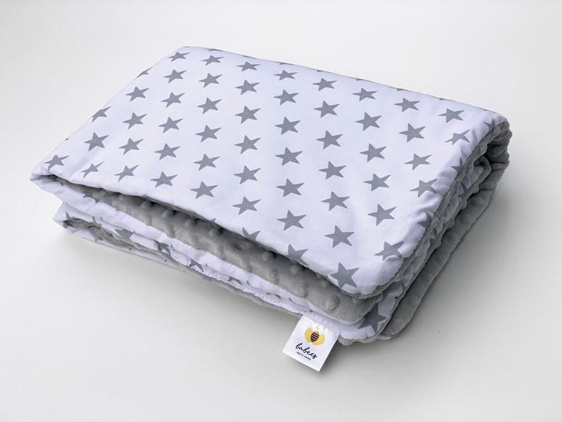 MINKY Babydecke Decke Kuscheldecke Bettdecke 75x100 ohne Füllung  50 Design