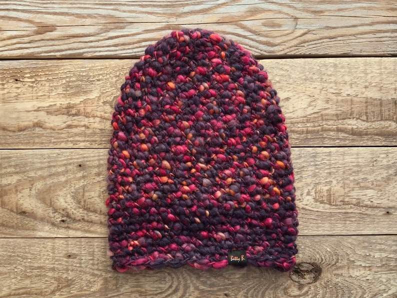 elegant violet cap women/'s winter hat knitted wool hat Woollen hat wool cap