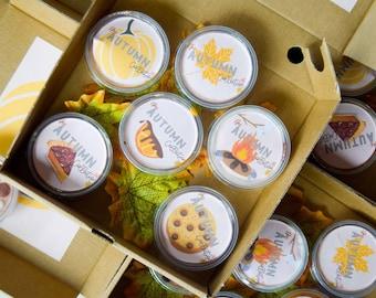 The Autumn Collection - 6 Wax Melt set, Wax Melt Set, Wax Melts handmade