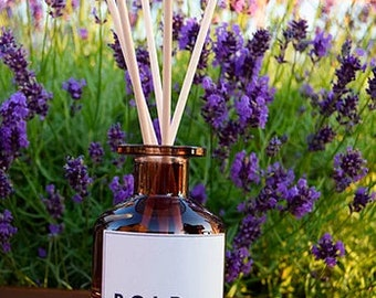 BOLD Ombre Glass Reed Diffuser- 140ml , Natural Reed Diffusers, Reed Diffusers, Home Fragrance