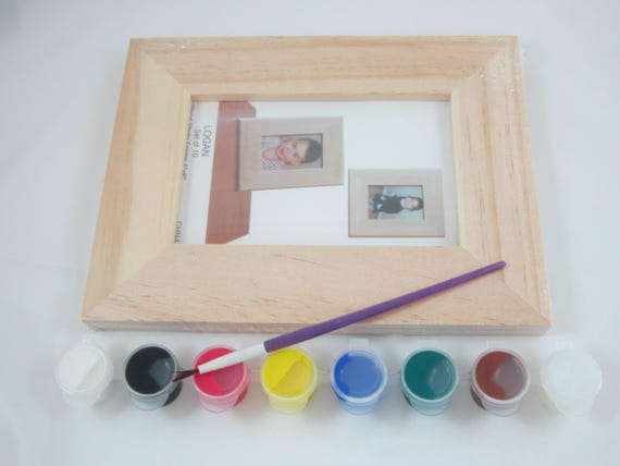 DIY Craft Kit DIY Picture Frame Decorate Your Own Wooden | Etsy