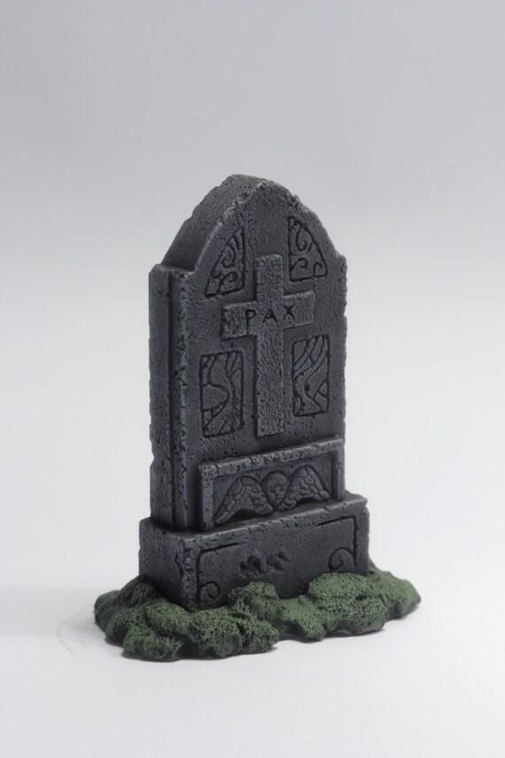 Pierre Tombale Miniature Modele Pax Pierre Tombale Etsy