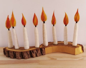 candle for the year ring child-friendly fire safe