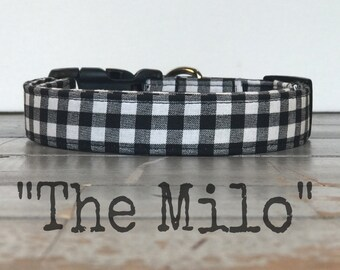 DOG COLLAR, Dog Collars for Boys, Dog Collar for Girls, The Milo, Modern Dog Collars, Cool Dog Collars, Gender Neutral Dog Collar