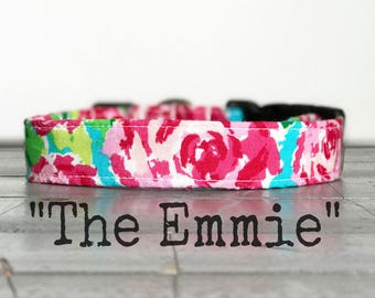 DOG COLLAR, Dog Collar for Girls, Floral Dog Collar, Pretty Dog Collars