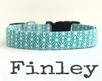 Unisex collier pour chien, colliers de chien, le Finley, collier de chien, garçon chien, colliers de chien pour les garçons, fille de chien