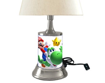 Super Mario Lamp with shade