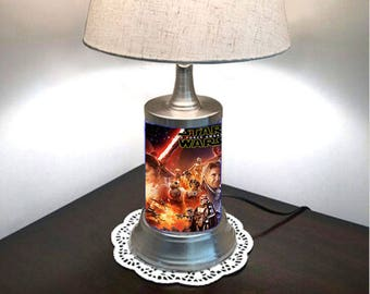 Star Wars Lamp with shade, The Force Awakens