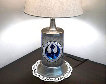 Star Wars Lamp with shade, New Republic
