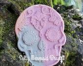 Sugar Skull Bath Bomb Mold - 5.0 ozs